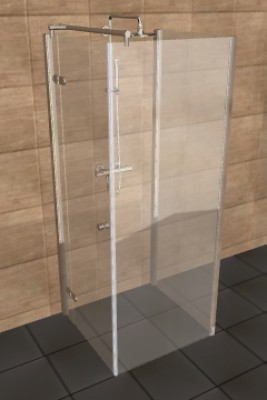 Dusche Bodeneben Abdichten : Walk In Dusche Ma?e : Walk in Duschkabinen nach Ma?