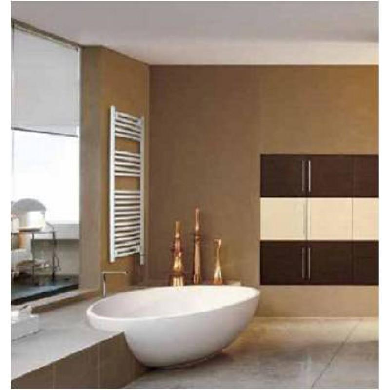 badhandtuchw rmer mit mittelanschluss in wei gerade 400x. Black Bedroom Furniture Sets. Home Design Ideas