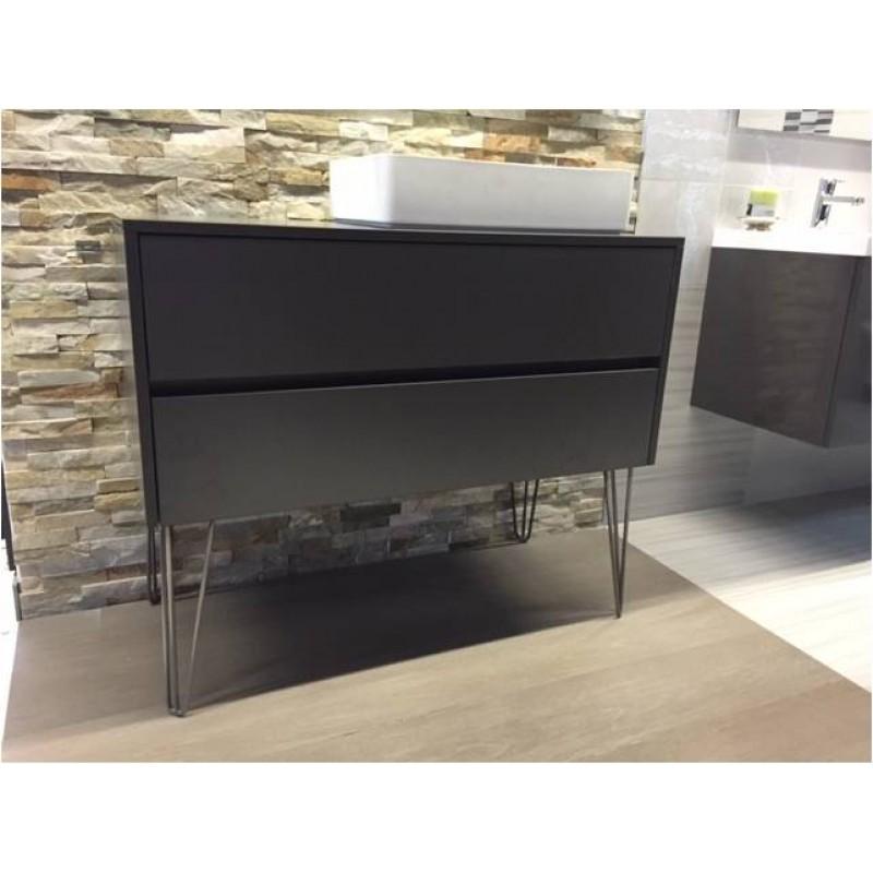 badm bel 111 5 cm bodenstehend industriedesign mit mineralguss. Black Bedroom Furniture Sets. Home Design Ideas