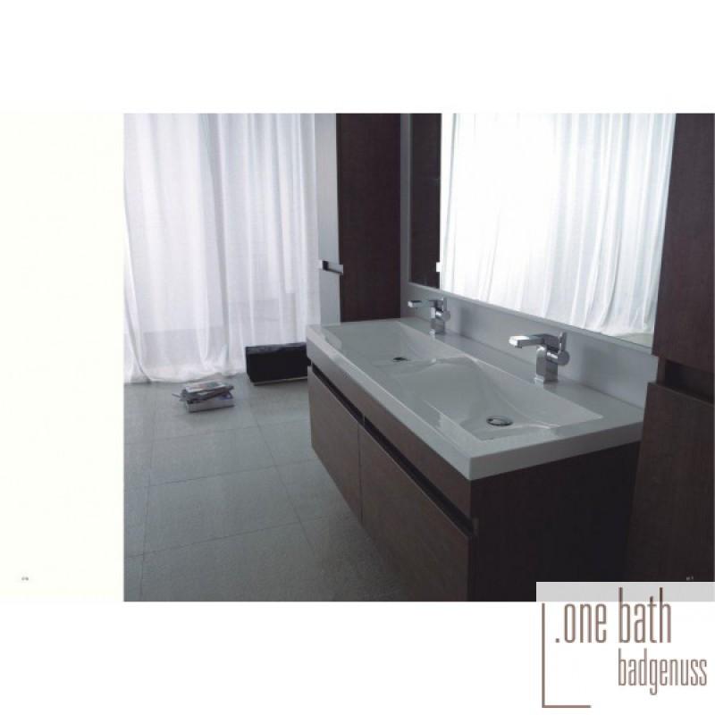 badm bel doppelwaschtisch mit griffmulde 144 cm in. Black Bedroom Furniture Sets. Home Design Ideas