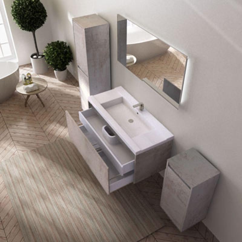 badm bel unterschrank ferrano 120 cm mit mineralguss. Black Bedroom Furniture Sets. Home Design Ideas