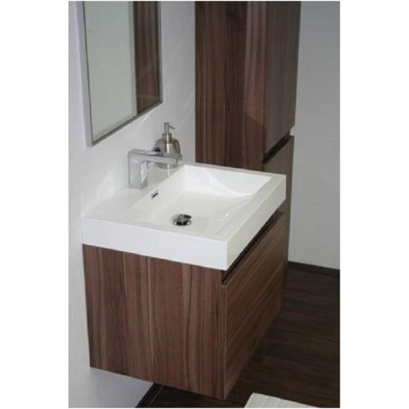 badm bel set in 60 cm in verschiedenen farben mit zwei ausz. Black Bedroom Furniture Sets. Home Design Ideas