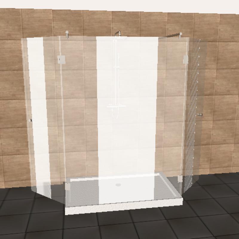 glasdusche nach ma jetzt planen. Black Bedroom Furniture Sets. Home Design Ideas