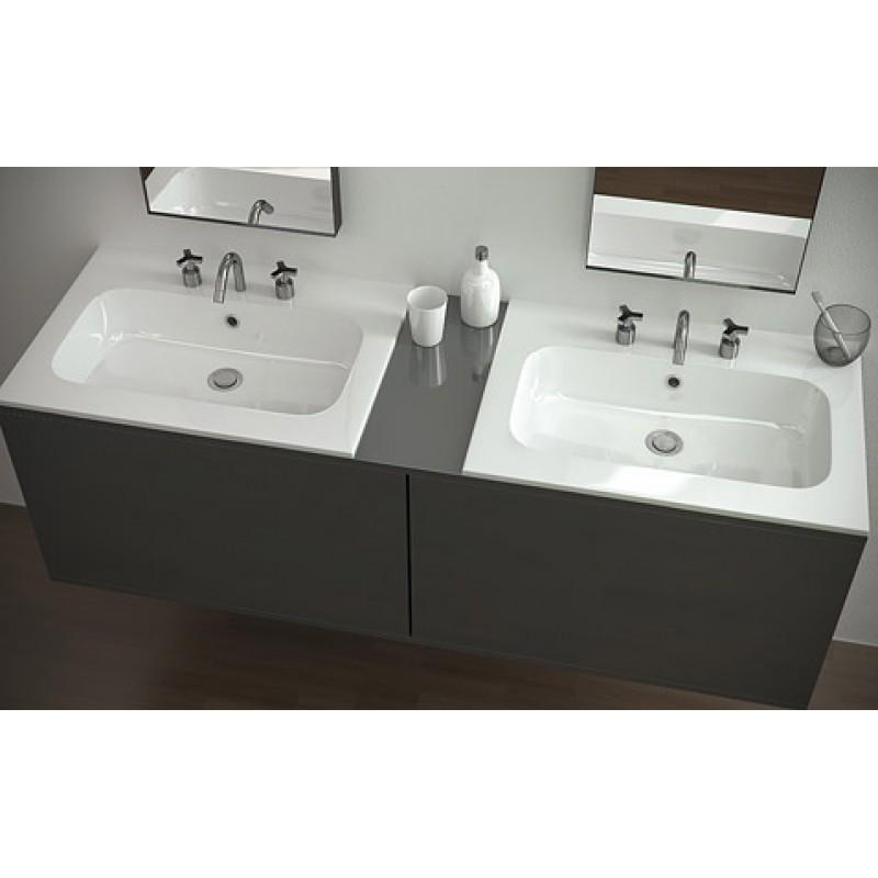 mineralguss einbau waschbecken plando made in italy 259 00. Black Bedroom Furniture Sets. Home Design Ideas