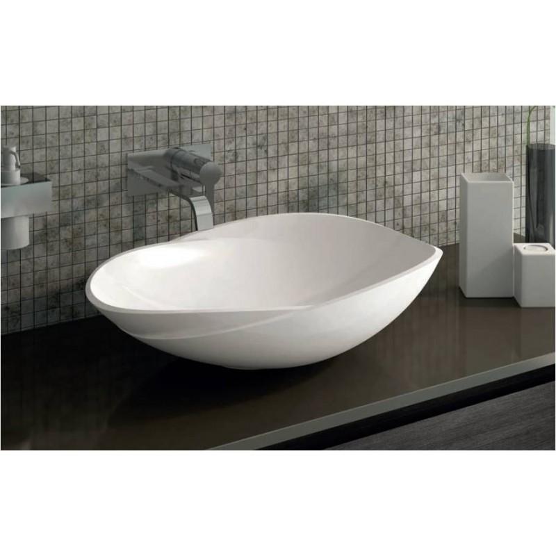 Toiletten Dusche Aufsatz : Mineralguss Aufsatz-Waschschale Filino 628x436x162 mm, 269,00 ?