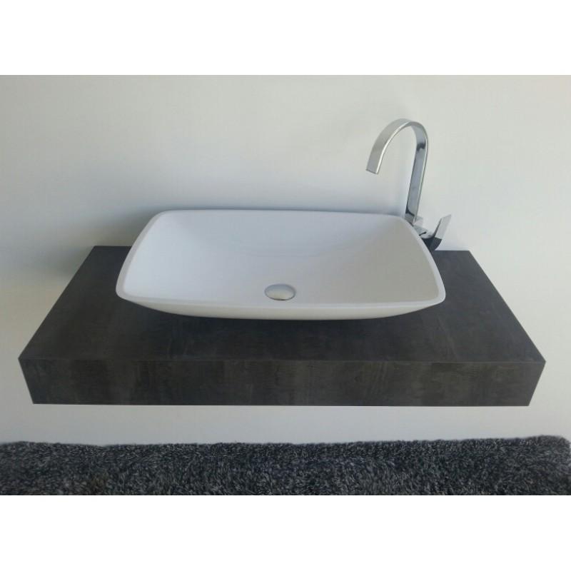 mineralguss aufsatz waschschale kumos 633x422x120 mm 27. Black Bedroom Furniture Sets. Home Design Ideas