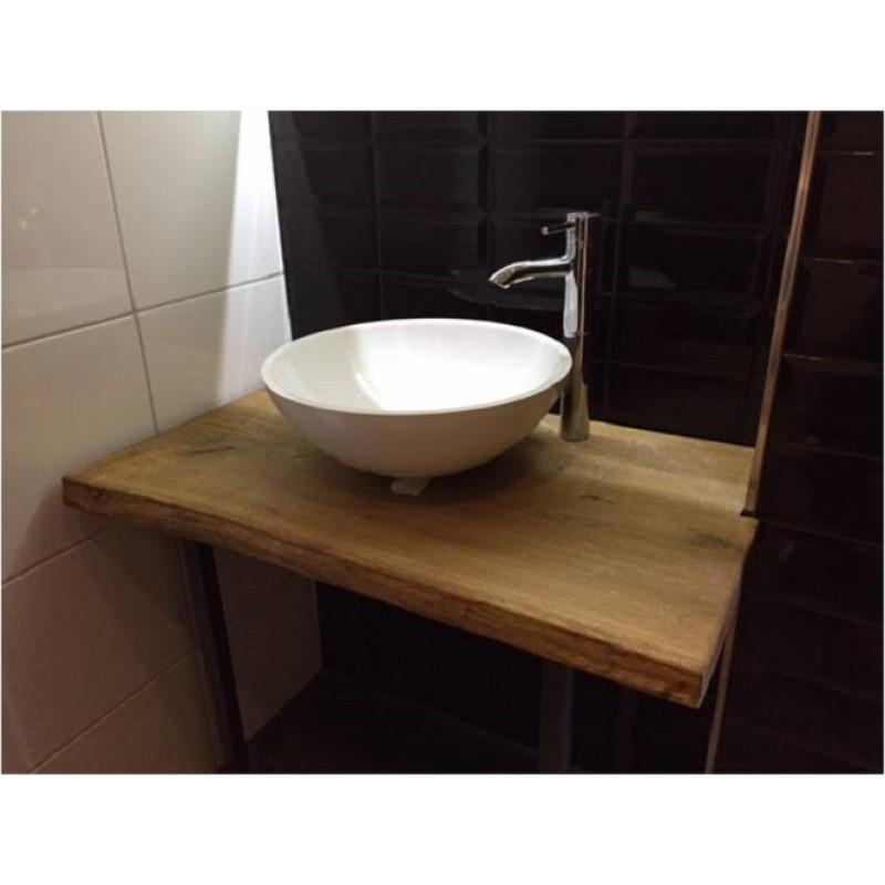 waschtisch holz f r aufsatzwaschbecken sch ne waschbecken. Black Bedroom Furniture Sets. Home Design Ideas