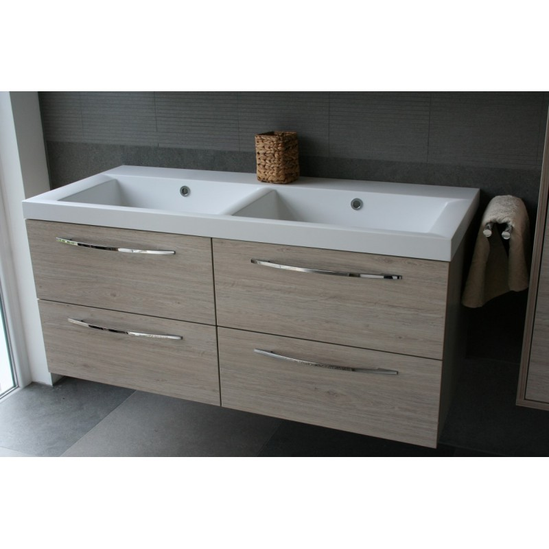 badm bel serie koreno in 120 cm mit doppelwaschbecke. Black Bedroom Furniture Sets. Home Design Ideas