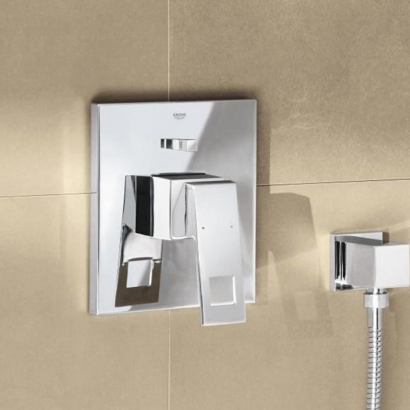 grohe unterputz duscharmaturenset eurocube mit regendusche kopfbrause. Black Bedroom Furniture Sets. Home Design Ideas