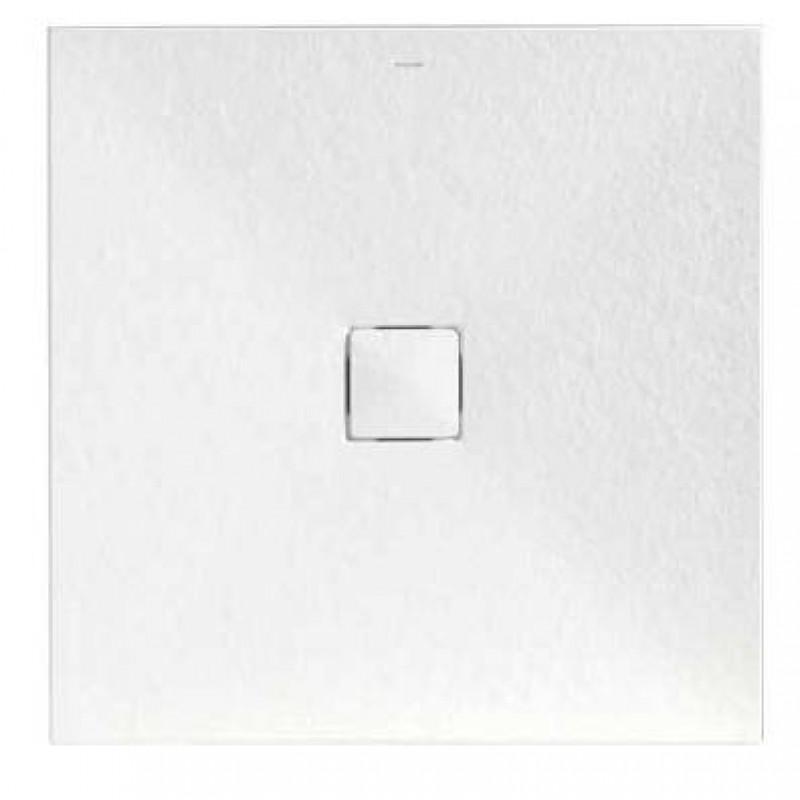 eck duschwanne mit mittigen ablauf inklusive viega ablaufgarnitur 8 f. Black Bedroom Furniture Sets. Home Design Ideas