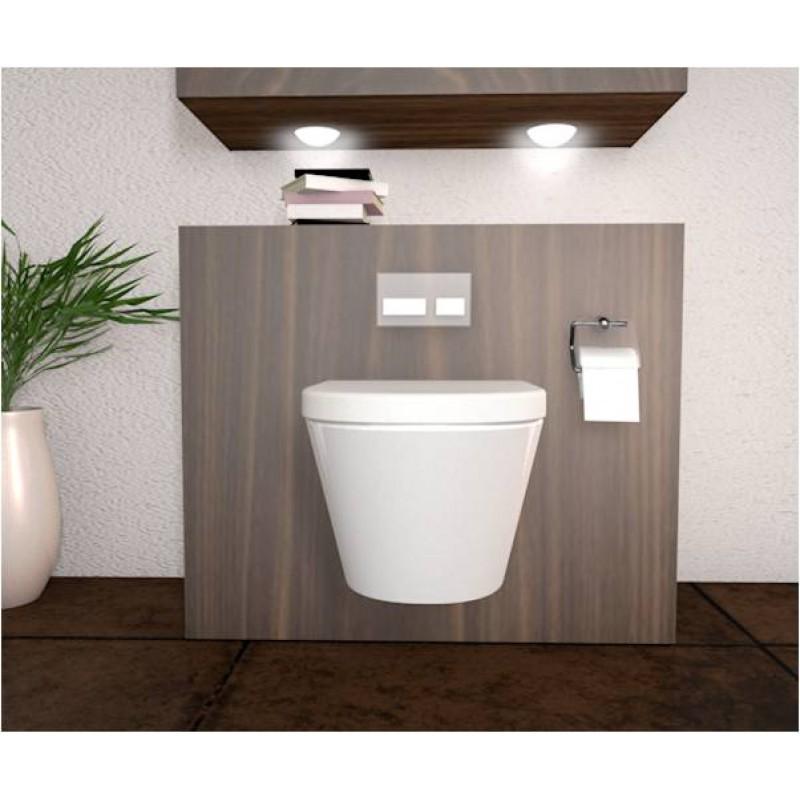 h nge wc modell desin mit soft close deckel abnehmba. Black Bedroom Furniture Sets. Home Design Ideas