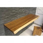 Echtholz waschtischplatte eiche 5 6 cm vollmassiv auf ma 89 0 - Waschtischplatte echtholz ...