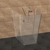 u form duschkabine nach ma. Black Bedroom Furniture Sets. Home Design Ideas