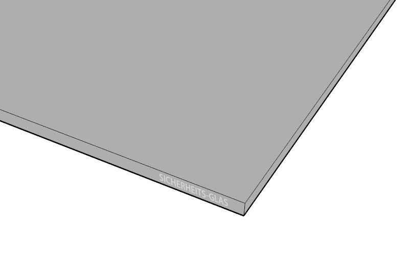 esg get ntes glas in grau. Black Bedroom Furniture Sets. Home Design Ideas