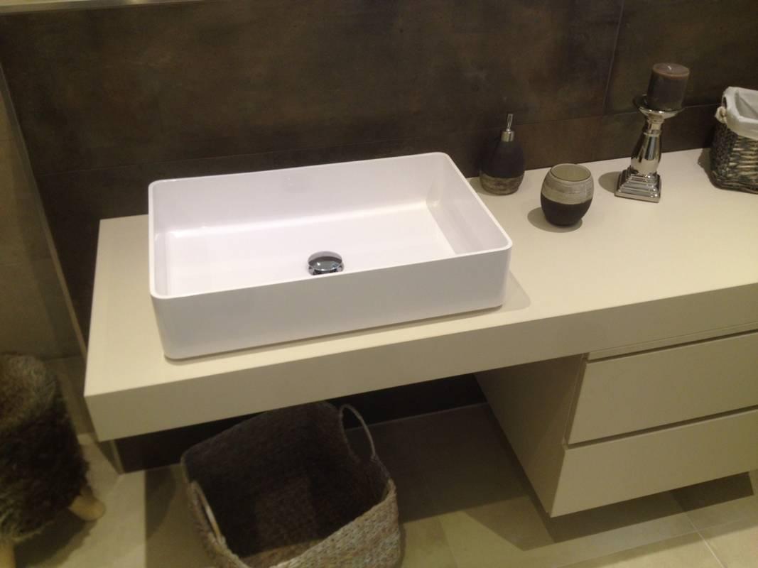 """Kundenbild 3 Badmöbel """"Stilon"""" Waschtischunterplatte mit Unterschrank in verschiedene Abmessungen"""