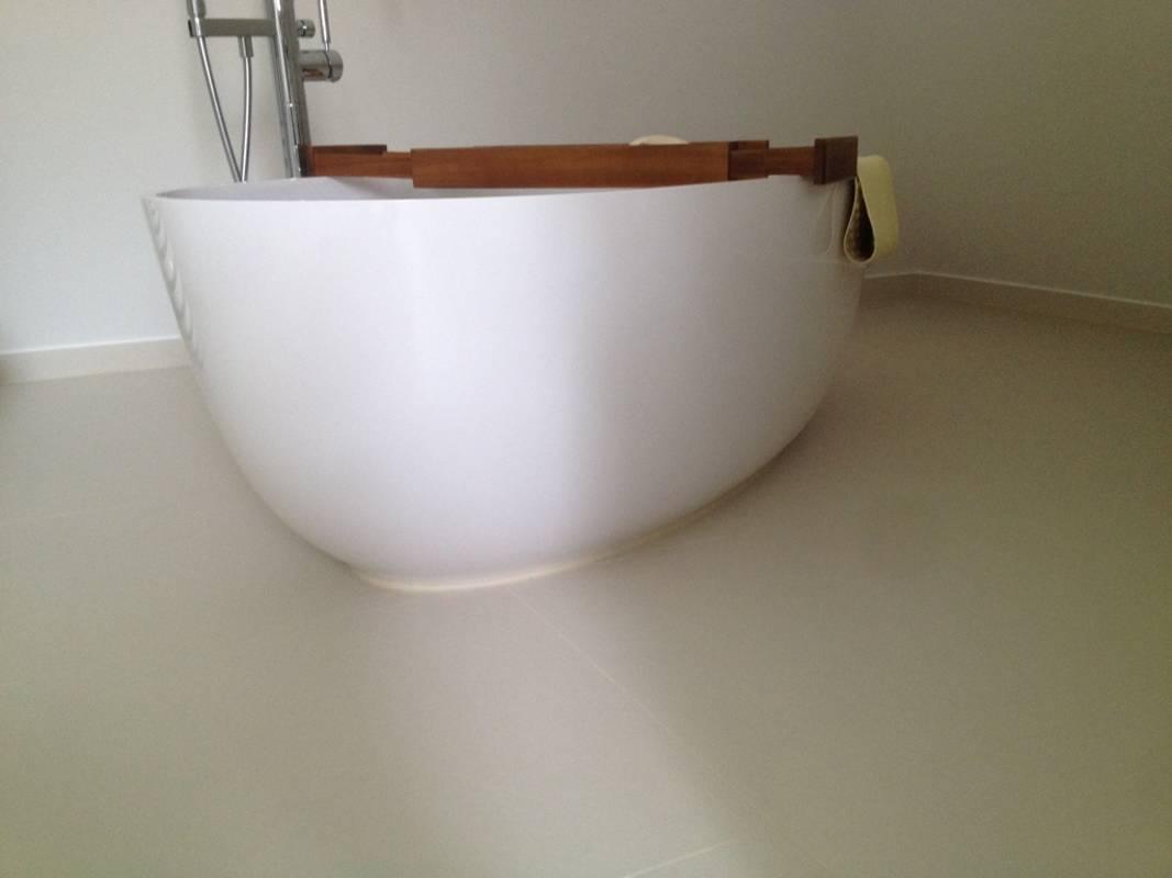 """Kundenbild 8 Mineralguss Badewanne """"Relino""""aus Solid Surface in Glanz oder Matt 1700x800x500 mm"""