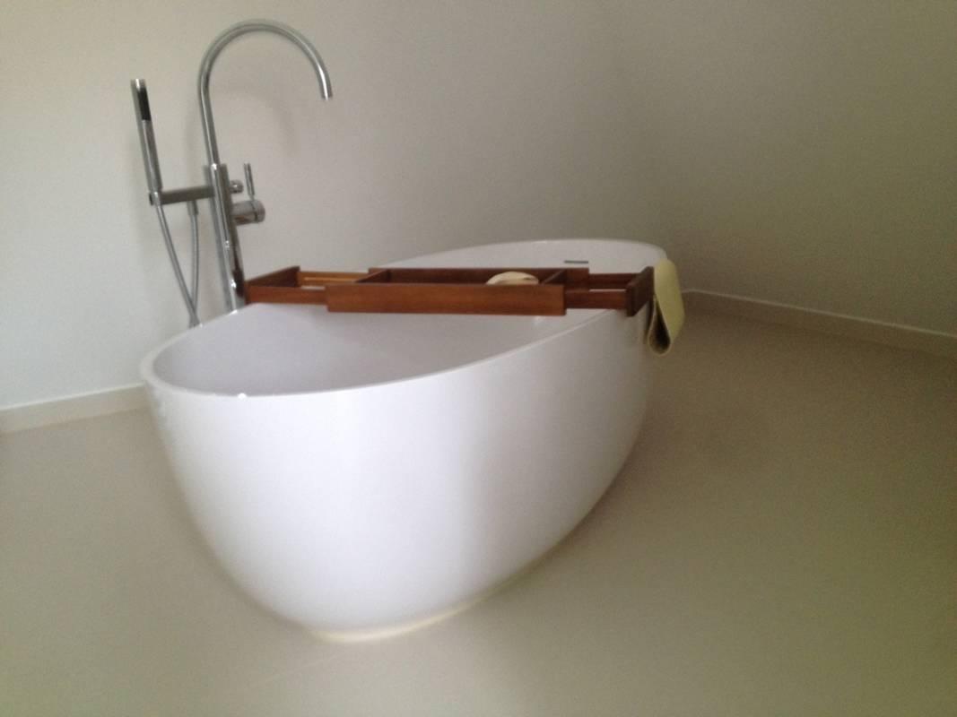 """Kundenbild 1 Mineralguss Badewanne """"Relino""""aus Solid Surface in Glanz oder Matt 1700x800x500 mm"""