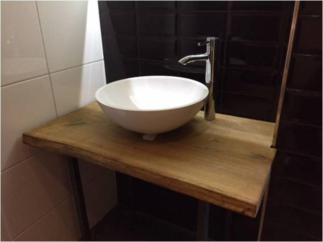 waschtischplatte eiche massiv auf ma. Black Bedroom Furniture Sets. Home Design Ideas