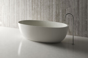 Mineralguss Badewanne Relinoaus Solid Surface in Glanz...