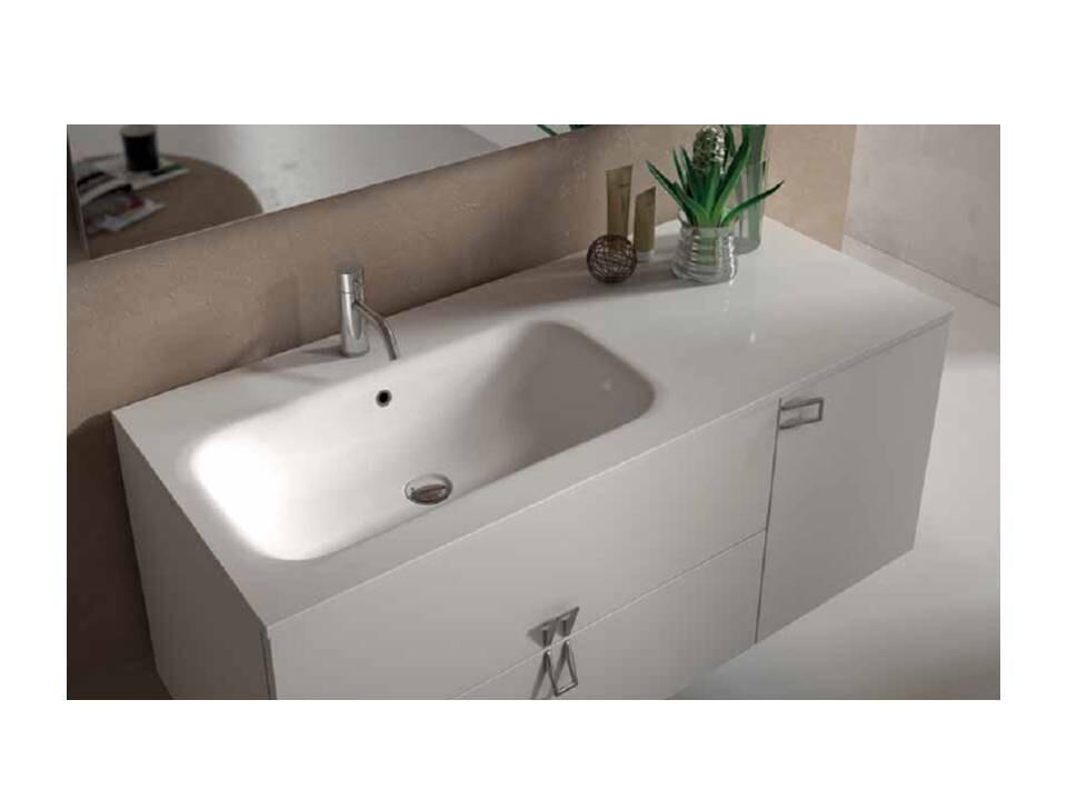 Mineralguss Einbau Waschbecken Zendo Made In Italy
