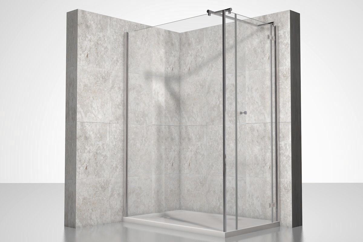 eckdusche duschkabine nach ma. Black Bedroom Furniture Sets. Home Design Ideas