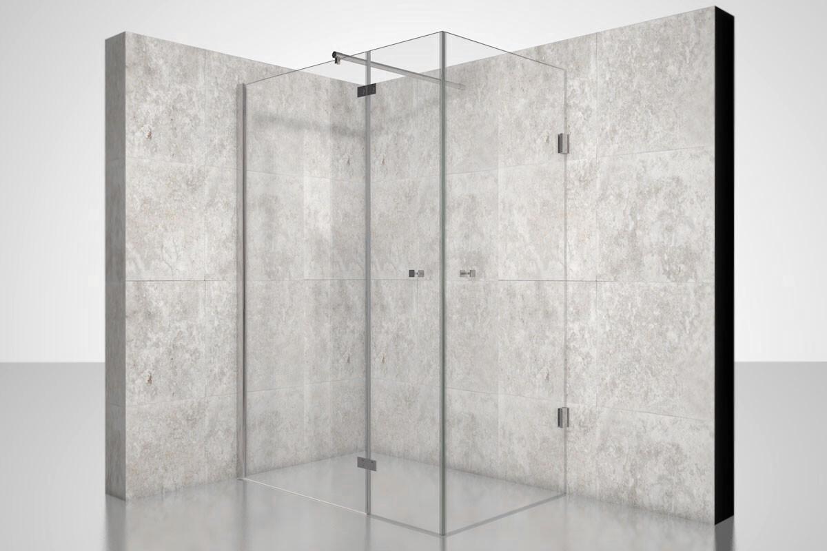 duschkabine nach ma 3d planung