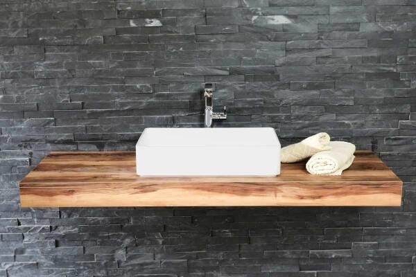 Waschtischplatte holz nach maß  Waschtischplatten & Waschtischunterplatten
