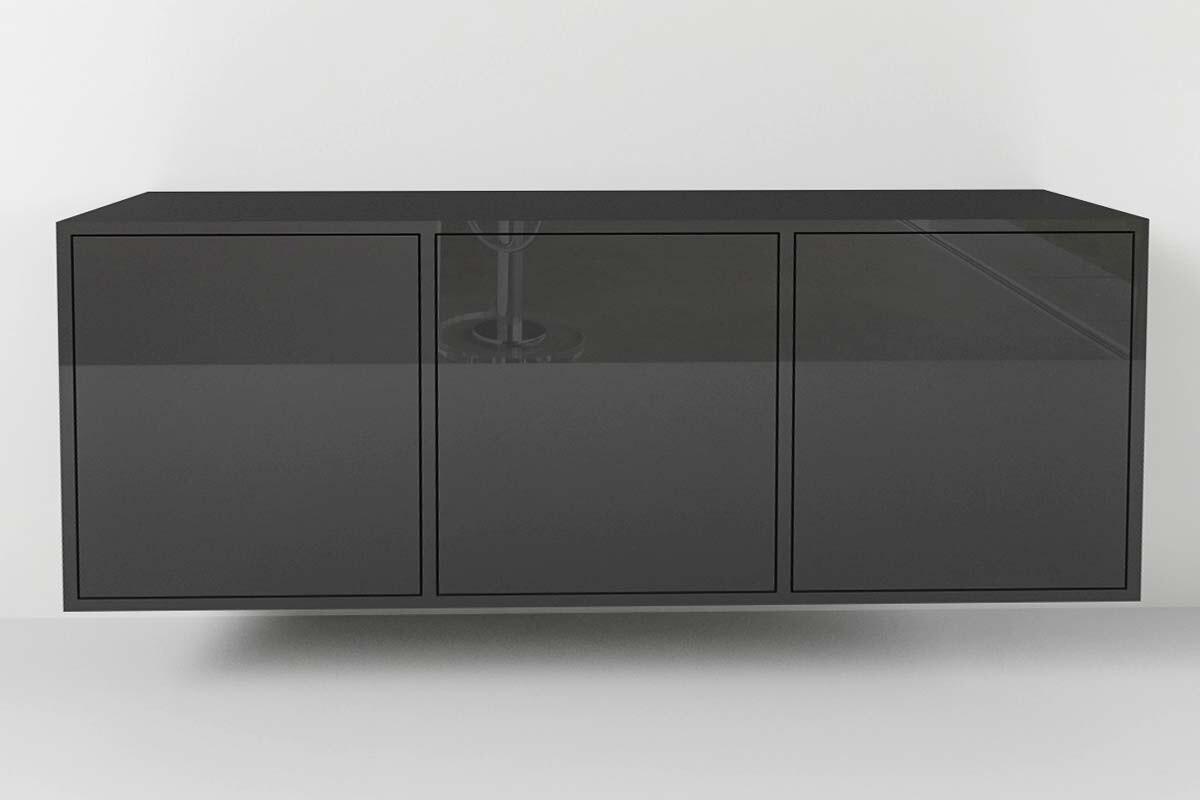 Sideboard Wandhängend sideboard typ 3 nach maß wandhängend