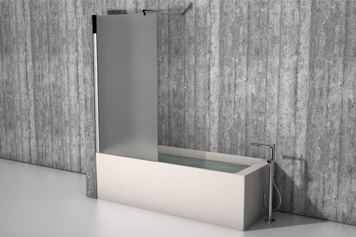 Badewannenaufsatz - die Duschwand für die Badewanne