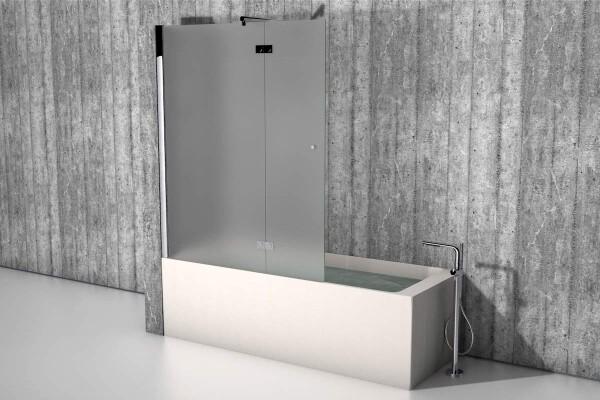 badewannenaufsatz die duschwand f r die badewanne. Black Bedroom Furniture Sets. Home Design Ideas