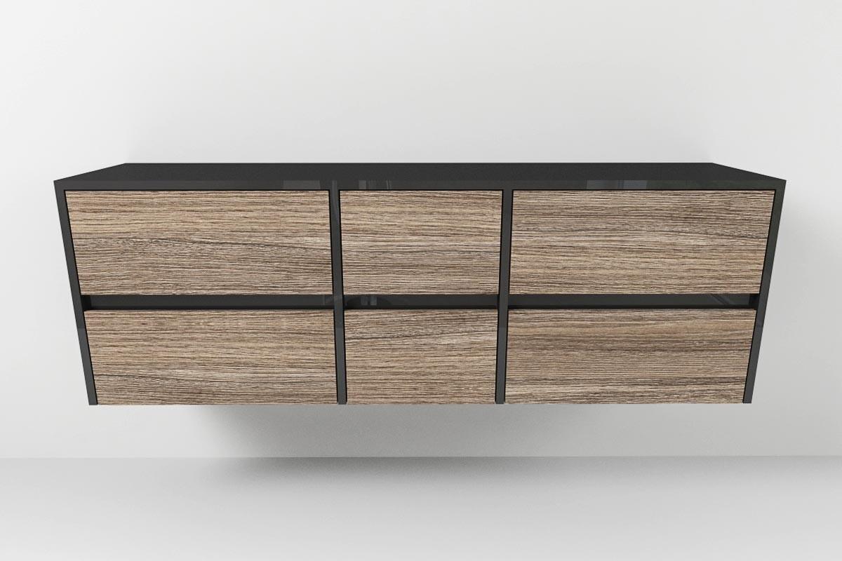 waschtischunterschrank typ 213 nach ma mit sechs au enliegenden schu. Black Bedroom Furniture Sets. Home Design Ideas