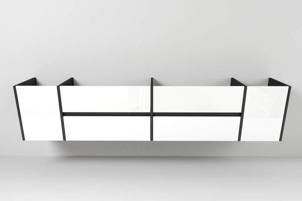waschtischunterschrank typ 115 nach ma mit zwei. Black Bedroom Furniture Sets. Home Design Ideas