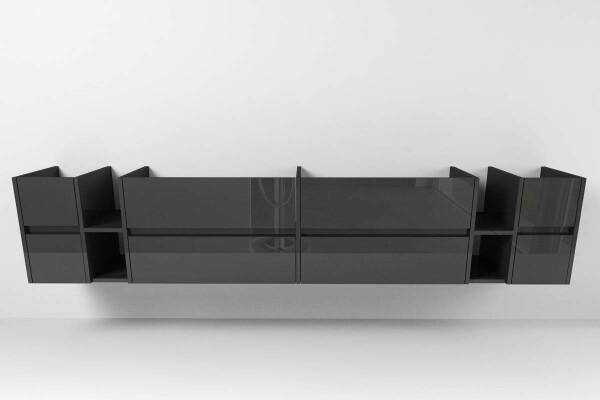 waschtischunterschrank typ 116 nach ma mit acht schubladen griffmuld. Black Bedroom Furniture Sets. Home Design Ideas