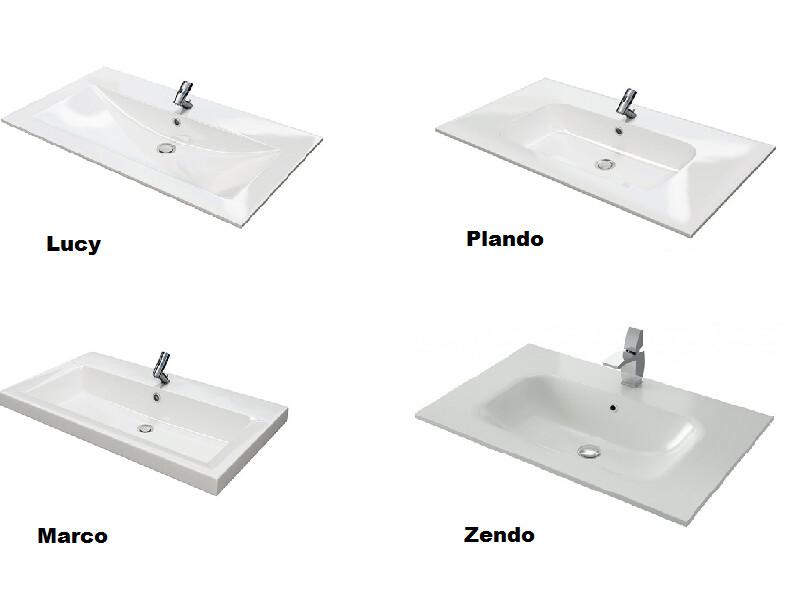 ... Waschbecken Mit Unterschrank Ferrano 70cm Made In Germany   Ansicht 5