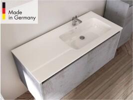 badm bel unterschrank ferrano 110 cm mit mineralguss waschbecken mad. Black Bedroom Furniture Sets. Home Design Ideas