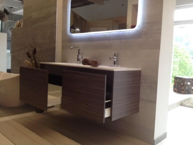 doppelwaschtisch mit unterschrank one bath. Black Bedroom Furniture Sets. Home Design Ideas