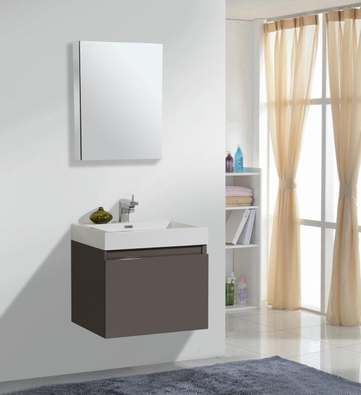 badm bel set in 60 cm in verschiedenen farben mit zwei ausz gen. Black Bedroom Furniture Sets. Home Design Ideas