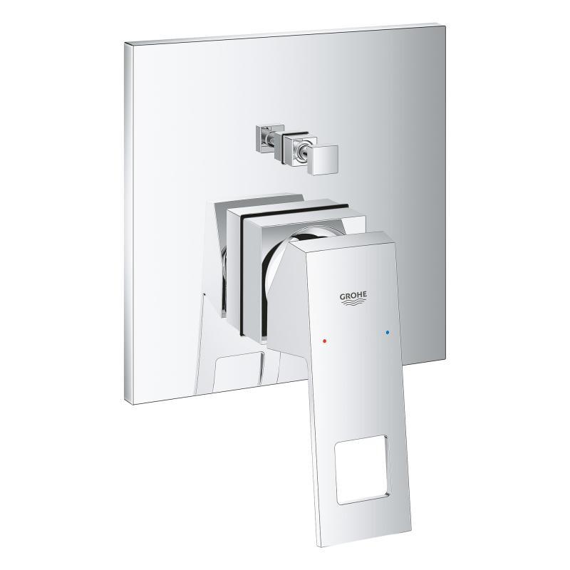 grohe unterputz duscharmaturenset eurocube ohne rapido mit regendusch. Black Bedroom Furniture Sets. Home Design Ideas