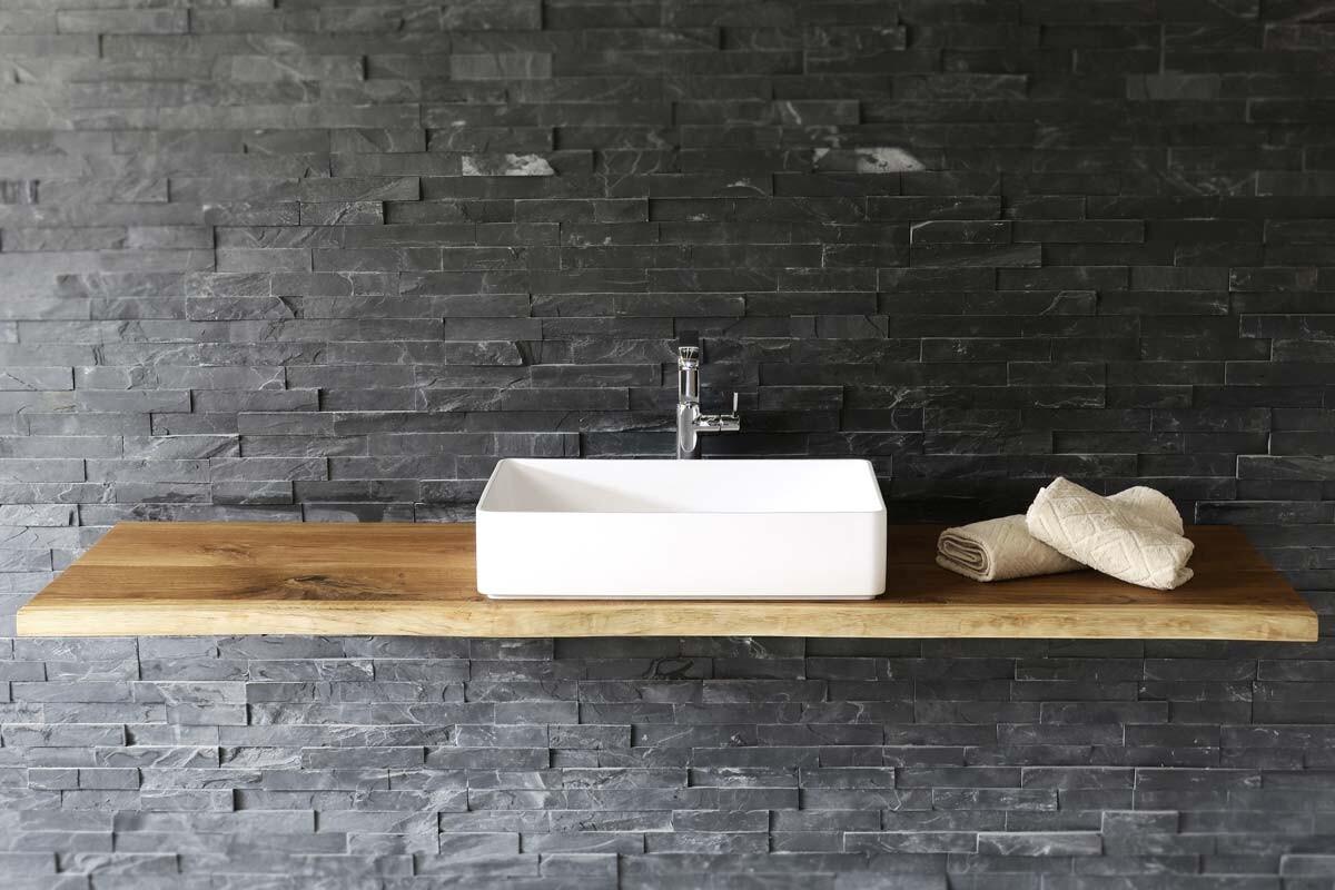 waschtisch holz auf ma eiche massiv. Black Bedroom Furniture Sets. Home Design Ideas