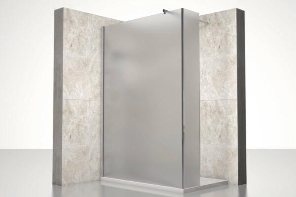 begehbare dusche typ 2 satiniert nach ma - Dusche Glastur Nach Mas 2