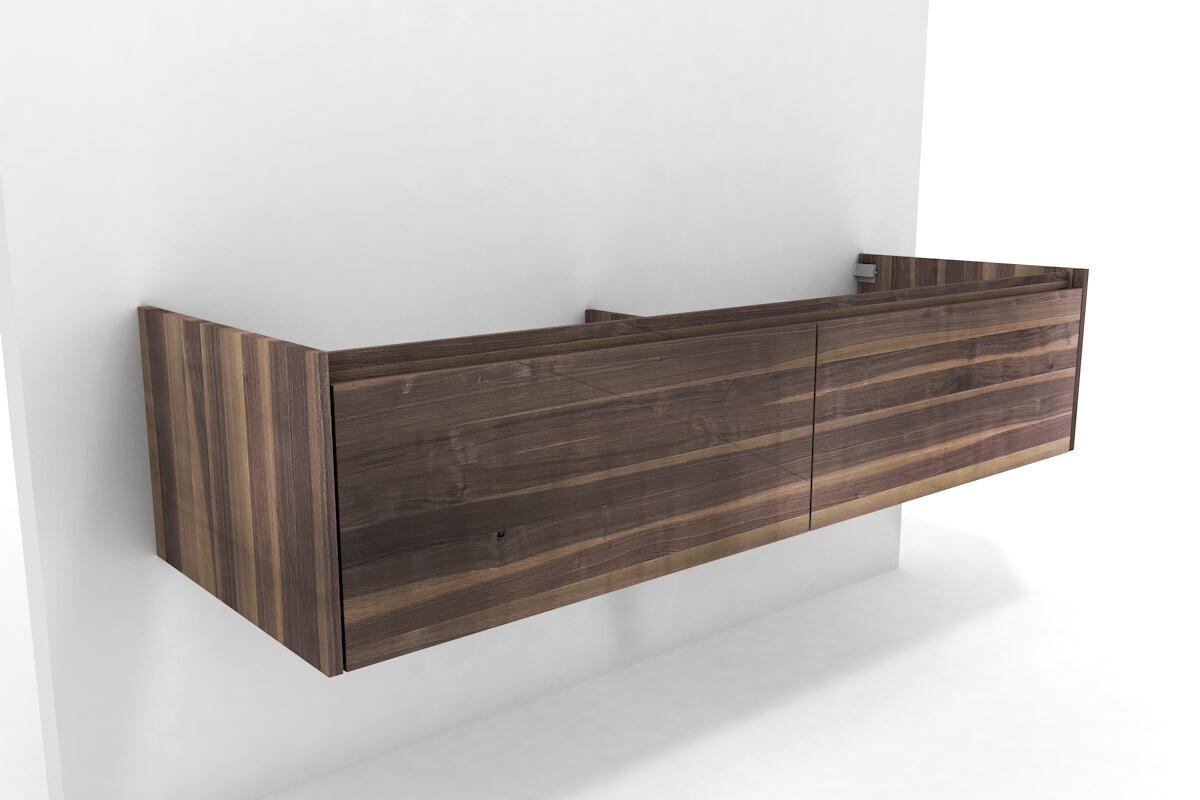 waschbeckenschrank bend nussbaum massiv nach ma. Black Bedroom Furniture Sets. Home Design Ideas