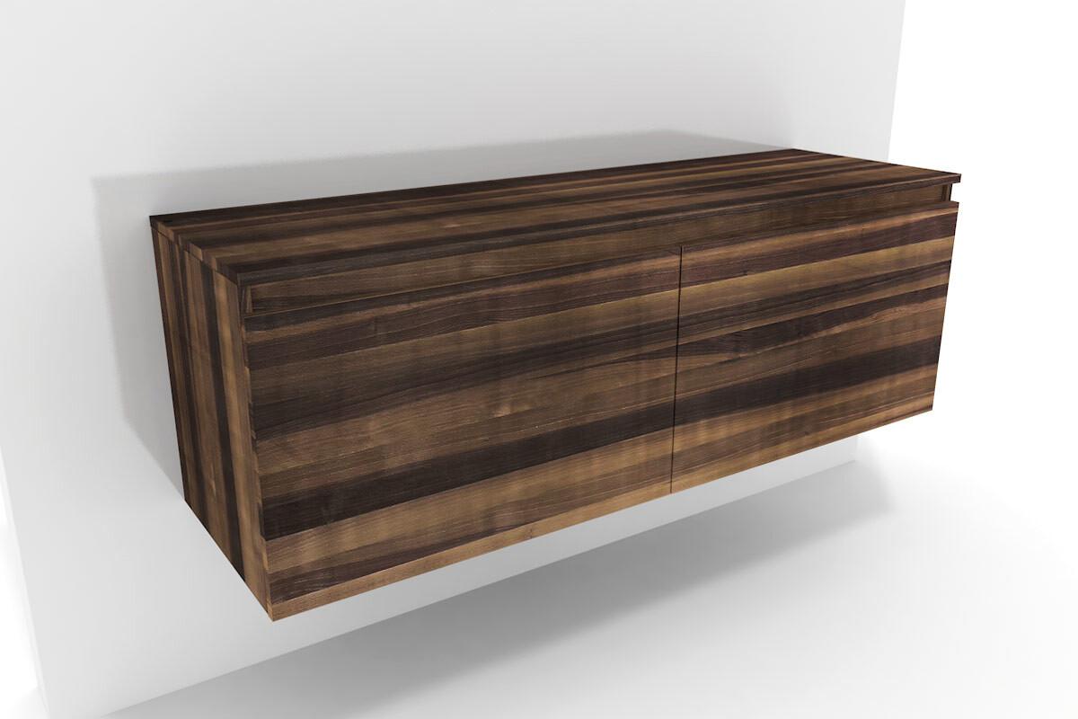 badm bel doppelwaschtisch lysta nussbaum. Black Bedroom Furniture Sets. Home Design Ideas