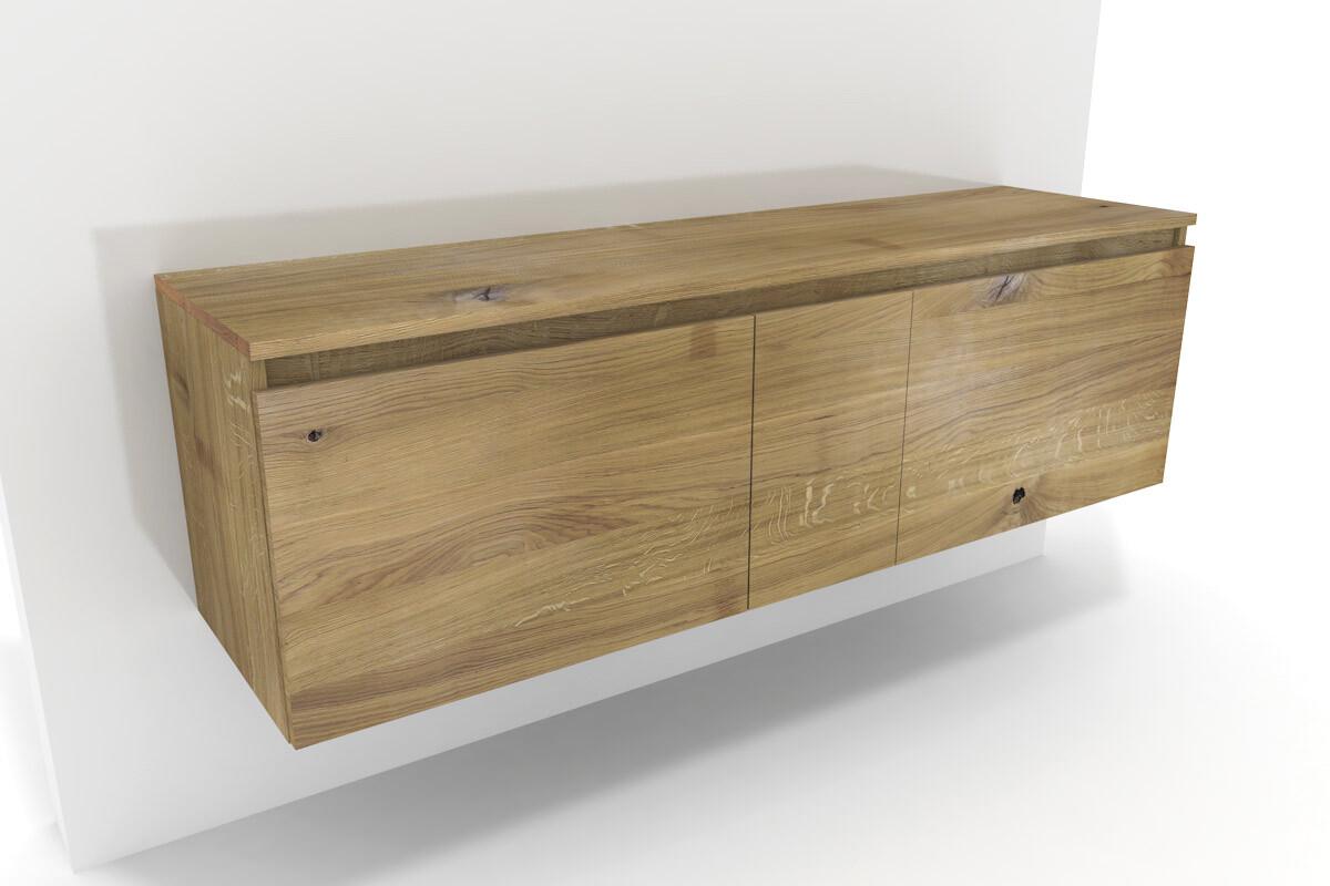 badezimmer unterschrank lysta eiche massiv. Black Bedroom Furniture Sets. Home Design Ideas