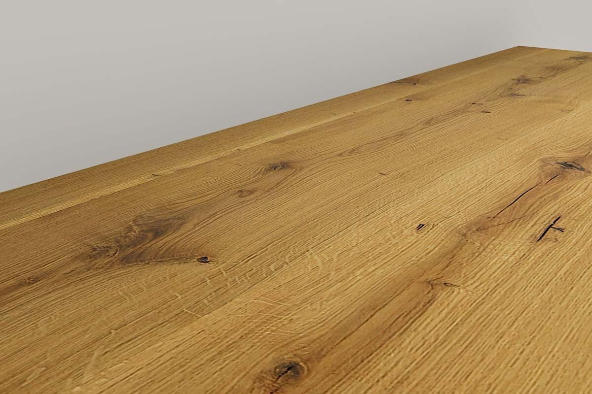 holz waschtisch eiche massivholz nach ma. Black Bedroom Furniture Sets. Home Design Ideas