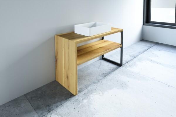 waschtischunterschrank mit aufsatzbecken. Black Bedroom Furniture Sets. Home Design Ideas