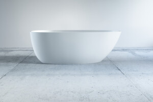 Badewanne in Ei Form Oval
