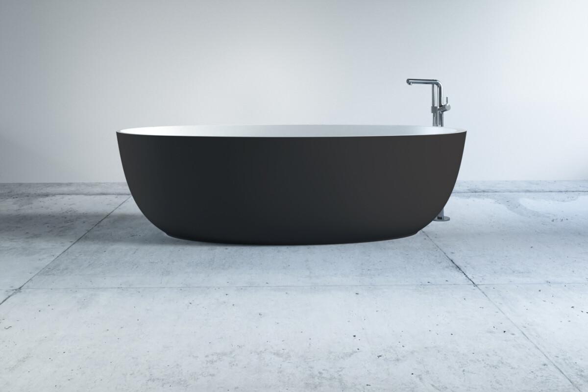 Mineralguss Badewanne dunkle badewannen online kaufen | .one bath