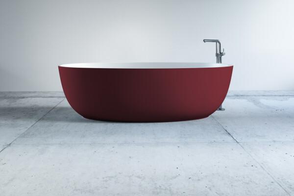 Echter Luxus: die freistehende Badewanne