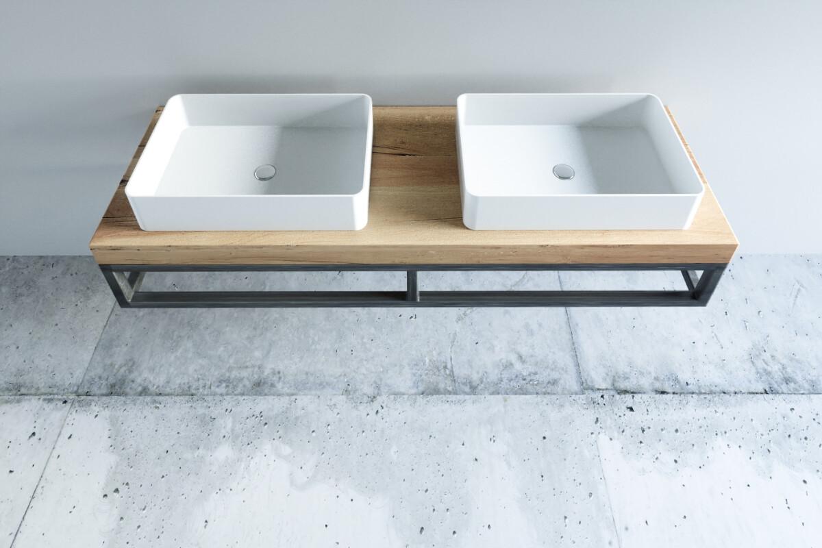 Badezimmermobel Altholz Eiche Nach Mass Bestellen One Bath