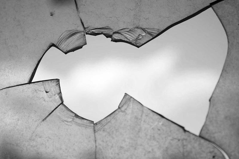 Float-Glas starke Splitter beim Bruch